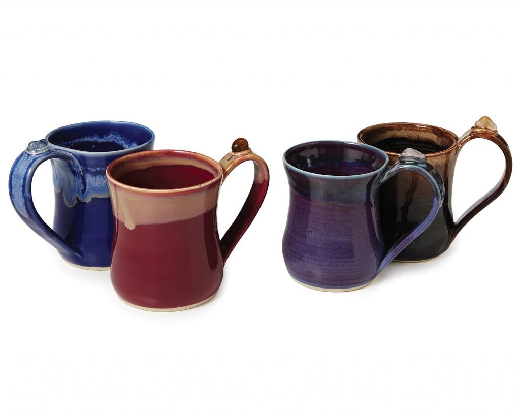 Crystal magic healing mugs for Natural stone coffee mugs