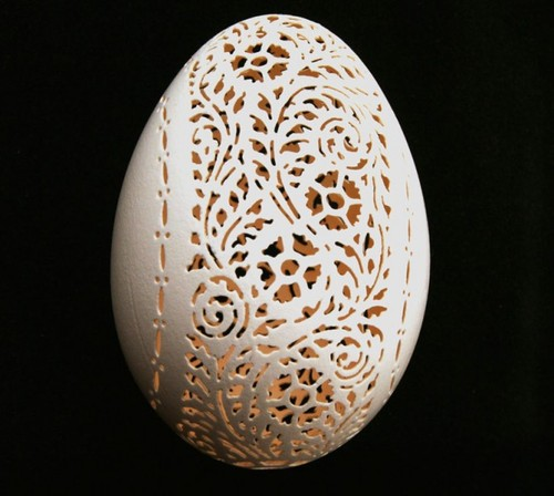 Lace egg 1