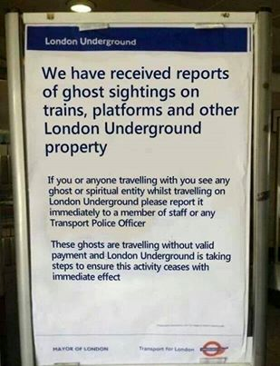 ghosts in london